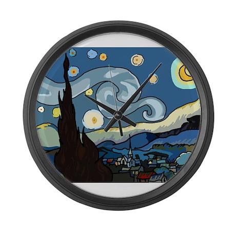 The Starry Night SFM - Large Wall Clock