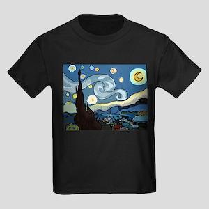 The Starry Night SFM - Kids Dark T-Shirt