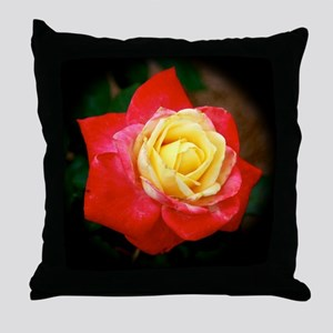 Love and Kisses Rose Throw Pillow