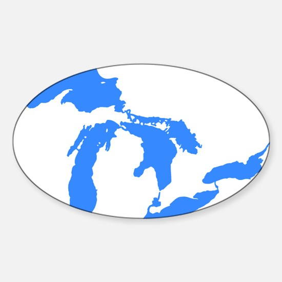 Great Lakes Oval Decal