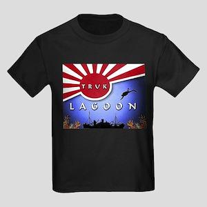 Truk Lagoon Wreck Diver Origi Kids Dark T-Shirt