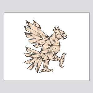Cuauhtli Glifo Eagle Tattoo Posters