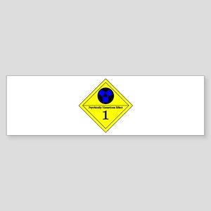 Psychic Hazard 1 Bumper Sticker