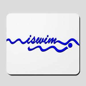I SWIM ORIGINAL Mousepad