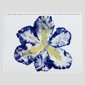 Iris Twelve Image Wall Calendar