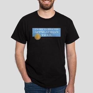 I'm Off To Hike Dark T-Shirt