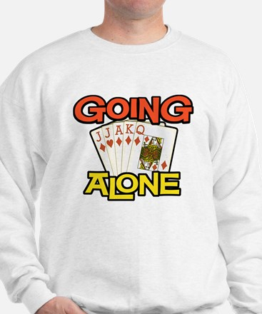 Euchre Going Alone Sweatshirt