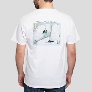 Hatteras Chart White T-Shirt