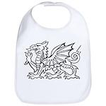 White Dragon Bib
