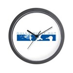 Gulls Night Out Wall Clock