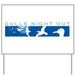 Gulls Night Out Yard Sign