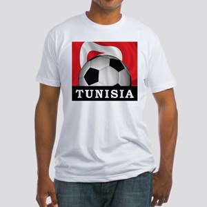 Tunisia Football Fitted T-Shirt