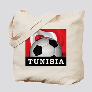 Tunisia Football Tote Bag