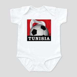 Tunisia Football Infant Bodysuit