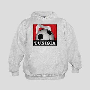 Tunisia Football Kids Hoodie