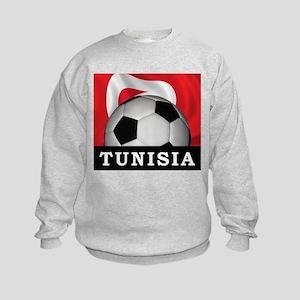 Tunisia Football Kids Sweatshirt