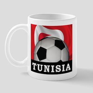 Tunisia Football Mug