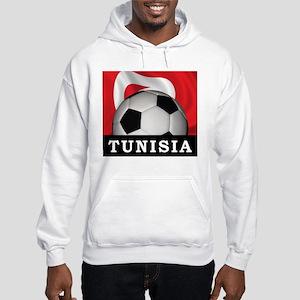 Tunisia Football Hooded Sweatshirt