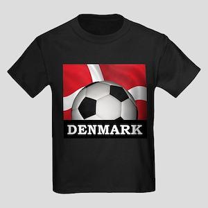 Denmark Football Kids Dark T-Shirt