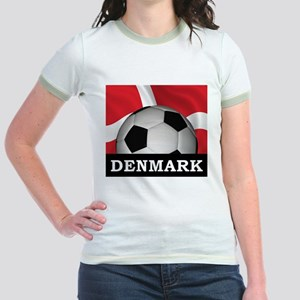 Denmark Football Jr. Ringer T-Shirt