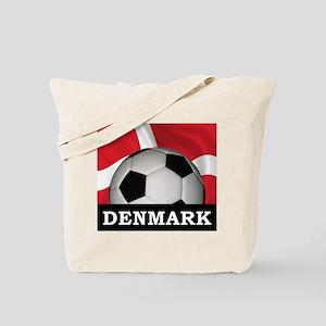 Denmark Football Tote Bag
