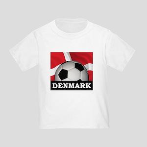Denmark Football Toddler T-Shirt