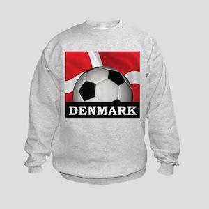 Denmark Football Kids Sweatshirt