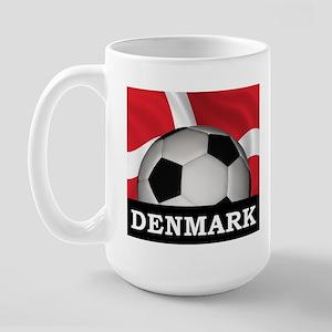 Denmark Football Large Mug
