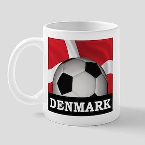 Denmark Football Mug