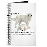 Great Pyrenees Potato Chip Journal