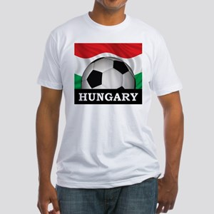 Hungary Football Fitted T-Shirt