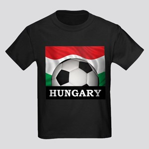 Hungary Football Kids Dark T-Shirt