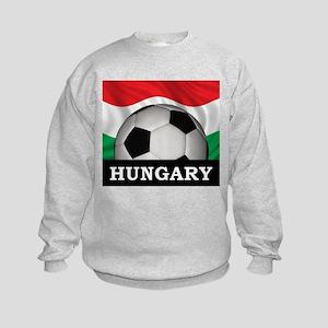 Hungary Football Kids Sweatshirt