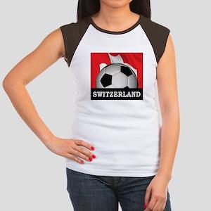 Switzerland Women's Cap Sleeve T-Shirt
