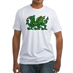 Green Dragon Fitted T-Shirt