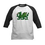 Green Dragon Kids Baseball Jersey