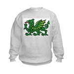 Green Dragon Kids Sweatshirt