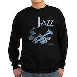 Jazz Trumpet Blue Sweatshirt (dark)