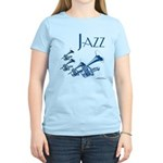 Jazz Trumpet Blue Women's Light T-Shirt