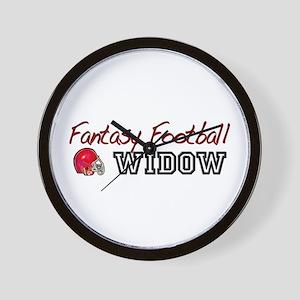 Fantasy Football Widow Wall Clock