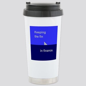 Finance 1 Stainless Steel Travel Mug
