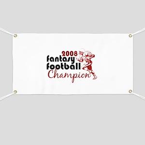 Fantasy Football Champ 2008 Banner