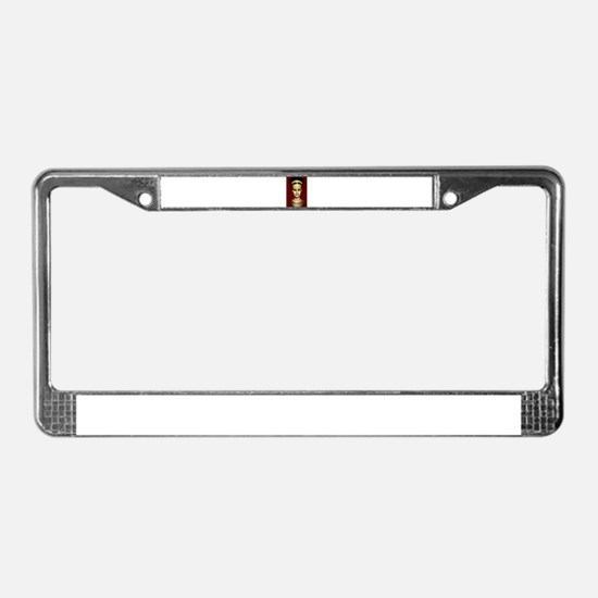 Anubis License Plate Frame