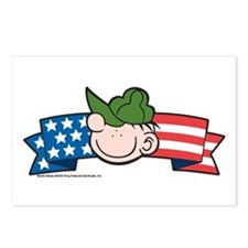 Star-Spangled Beetle Banner Postcards (Package of