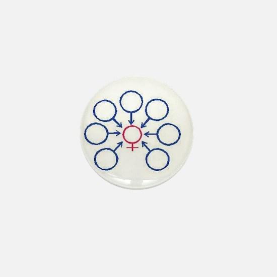 Bukkake Mini Button