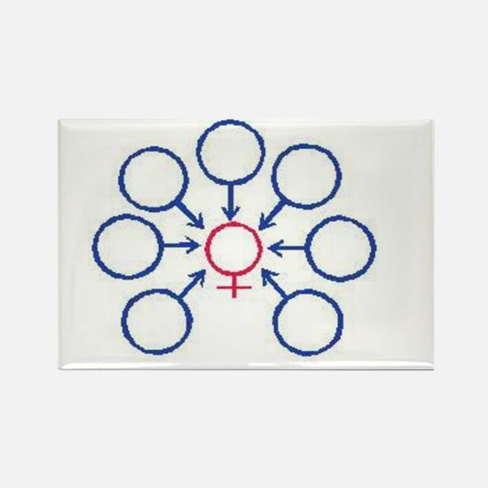 Bukkake Rectangle Magnet