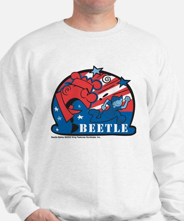 Angry Sarge Red, White, and B Sweatshirt