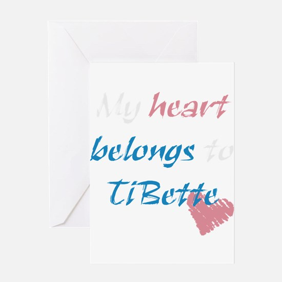 TiBette Greeting Card