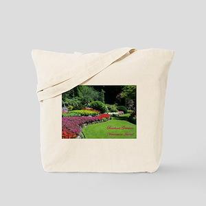 Flowers 2 BG, VI Tote Bag