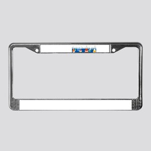 Buoys Night Out License Plate Frame